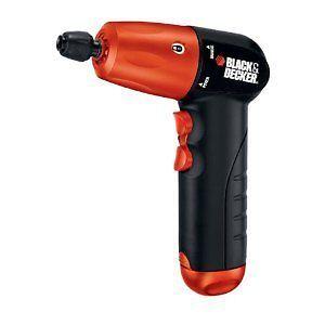 "Black Decker 6 V Alkaline 1 4"" Cordless Drill Driver Power Tool AA Battery New"