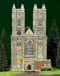 Westminster Abbey New Department Dept 56 Dickens Village D56 DV