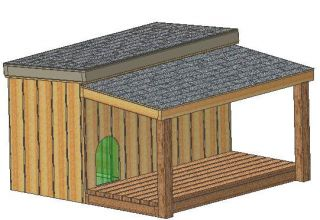 Insulated Dog House Plans 15 Total Multiple Dog Kennel Plans for 2 Dogs