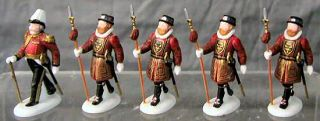 Yoemen of The Guard New Department Dept 56 Dickens Village D56 DV