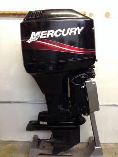 2005 Mercury 90 HP 2 Stroke Outboard Motor Boat Engine 75 60 Water Ready Rebuilt