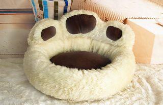 Warm Cute Bear Paw Shape Pet Dog Cat Pet Bed Kennel