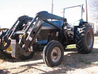 64HP Long 680 Tractor w FEL Loader Skid Steer Bucket Farmtrac Utility
