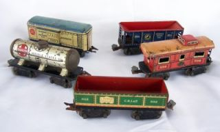 Huge Lot Pre War Marx Lionel Bachmann American Flyer Engines Cars Transformers