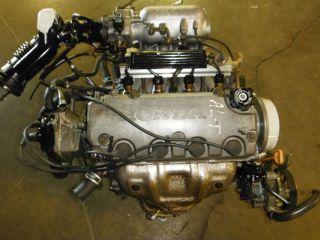 Honda Civic JDM D16A SOHC Non vtec Egnine Motor Long Block 1 6 Liter D16 Used