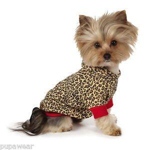 X Small Dog Coat Chihuahua Yorkie Toy Poodle Dog Hoodie Isaac Mizrahi Clothe