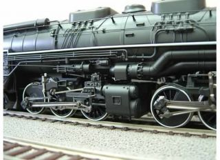 Rivarossi HR2355 H0 DC 2 Rail Dampflok 2 6 6 6 Allegheny Chesapeak Ohio Steam Locomotive 1644 with Amazing Detail New in The Box OVP Neu
