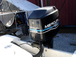 "... Used 1999 Mercury Marine 225XXL 225HP EFI Outboard Boat Motor 30"" ..."