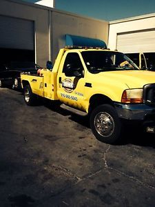 2001 Ford F550 Diesel Tow Truck Wrecker