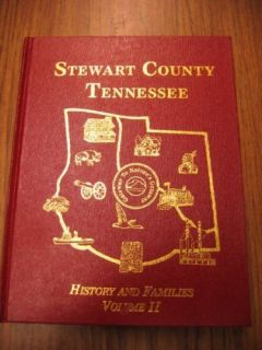 Stewart County Tennessee History Families Volume 2