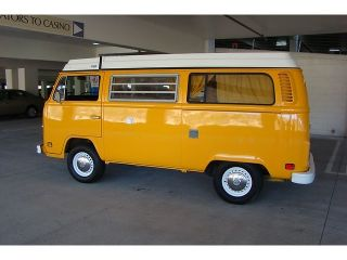 1976 VW Volkswagen Westfalia camper Van Bus Free Shipping w Buy It Now
