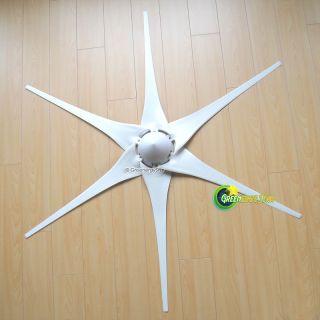"""6 x 53"""" Wind Turbine Generator Blades Hub Nose Cone 6 Socket Fit Air x 403"""