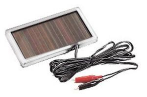 Moultrie Feeders 6 Volt Solar Panel Deer Feeder Battery Charger