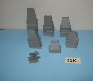 HO Scale Atlas Graduated Height Train Track Risers Bridge Elevated Support Lot