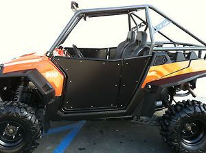 Twisted Stitch RZR Steel Opening Doors