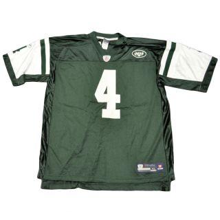 NFL Reebok Brett Favre 4 New York Jets Football Mesh Authentic Jersey Shirt XLRG