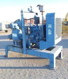 Thompson 6 inch Trash Water Irrigation Pump John Deere Diesel Engine