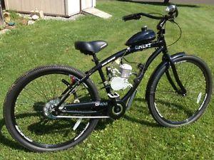 "New Custom 29"" Beach Cruiser Bicycle w 80cc Gas Engine Motor Upgrades Look"