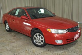 1999 Toyota Camry Solara 2dr Coupe Auto Sunroof FWD 4CYL Clean Carfax