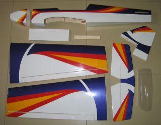 Brand New 40 55 Super Sports RC Sport Plane ARF Kit