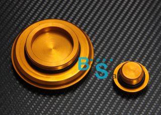 Yellow Right Side Engine Cover Camshaft Plug Fit for Honda CBR Hornet CBF CB 600