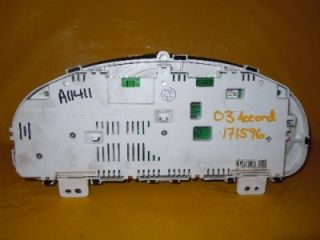 03 04 05 06 07 Accord DX LX VP Speedometer Instrument Cluster Dash Panel 171 596