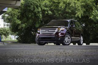 2011 Ford Explorer XLT Navigation SAT Radio Bluetooth Back Up Camera