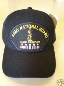 Army National Guard Iraqi Freedom Baseball Cap