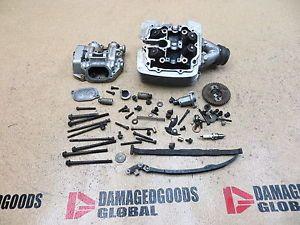 2000 00 Yamaha Grizzly YFM600 YFM 600 4x4 Damaged Engine Cylinder Head Top End