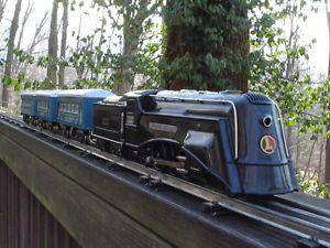 Lionel Trains Steam Engine Passenger Car Set Commodore Vanderbilt Prewar USA