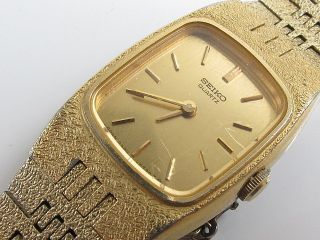 Vintage Seiko Quartz Ladies Dress Wrist Watch