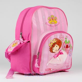 "12"" Small Strawberry Shortcake Backpack Berry Dazzling Princess Girls Book Bag"