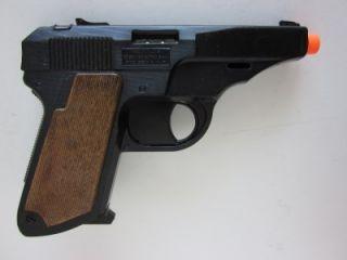 Walther PPK Secret Agent Semi Auto Pistol Cap Hand Gun Replica 380 Toy Italy New