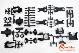 1 10 RC R C Teh R31 EP Belt Drive Racing Initial D Street Drift Car Chassis Kit