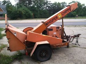 Whisper Chipper 612 Drum Wood Chipper with Ford 300 Gas Engine