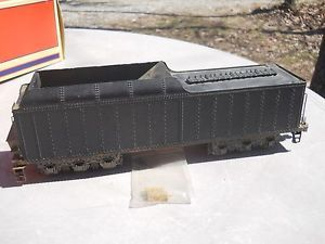 O Scale 2 Rail Brass Tender Excellent Condition