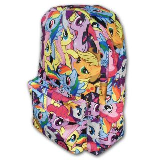 My Little Pony Character Pinkie Pie Twilight Rainbow Dash MLP Licensed Backpack