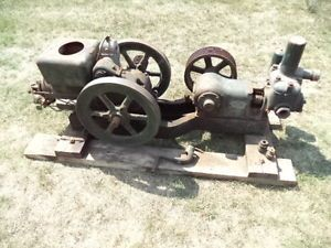 3 HP Fairbanks Morse Z Hit Miss Gas Engine Typhoon Water Pump MN Forest Service
