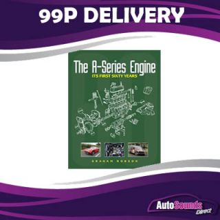 The A Series Engine Its First 60 Years BMC Engine Book by Graham Robson