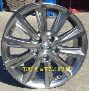 "17 inch Rims Tires Toyota Replica Alloy Wheels Tires 17"" 5x114 3 5x4 5"