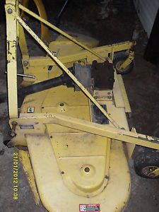 """John Deere 261 PTO Finish Grooming Mower 72"""" 6ft with Extra Blades Belt"""