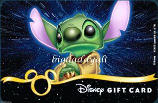 New Disney Star Wars Weekends 2013 Stitch Master Yoda Gift Card Le WDW