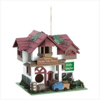New Wood Birdhouse Outdoor Decorative Bird House 12 to Choose From