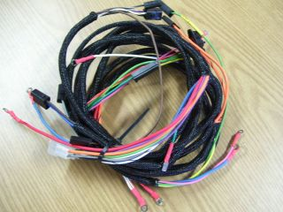 farmall 560 diesel wiring harness kit 12 harnesses included