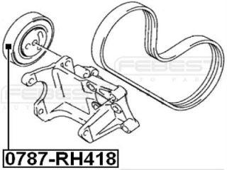 Pulley Idler Suzuki Grand Vitara Escudo JB416 JB420 JB627 2006 49160 64J01