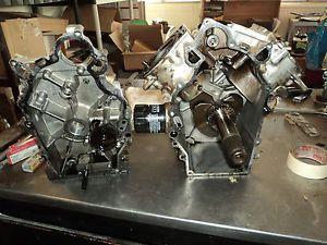 1999 Kawasaki Mule KAF 620 2510 Engine Motor Crankcase Crank Pistons Rods K160
