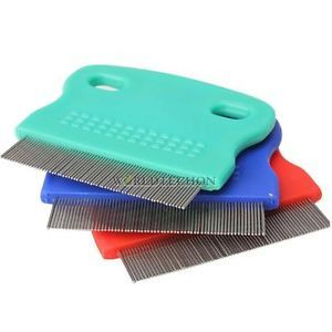 New Pet Dog Puppy Cat Flea Cleaning Comb Small Grooming Tool Steel