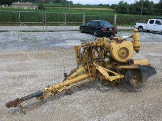 "Vermeer 630 Stump Grinder Pintle Hitch 14"" Grinder as Is No Reserve"