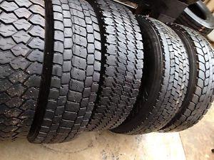 Used Tires 245 70 19 5 Goodyear Michelin Roadmaster Sailun Bridgestone