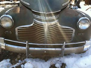 1941 Chevy Two Door Sedan Hot Rod Street Rod Parts Car Project